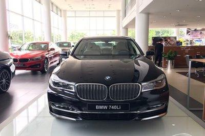 Thời điểm ra mắt, BMV 740Li có giá lên tới 5,599 tỷ đồng