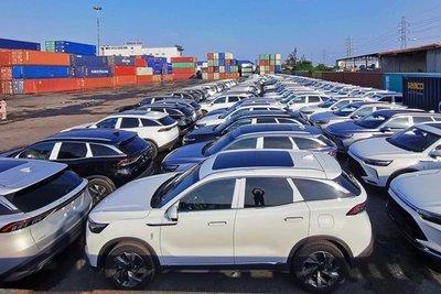 Lượng xe nhập khẩu tăng đến 11% trong tháng vừa qua là con số khá bất ngờ