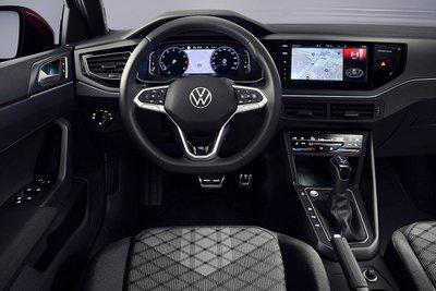 Volkswagen Taigo 2022 bảng điều khiển trung tâm