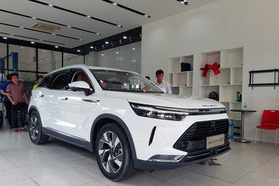 Beijing X7 được rất nhiều người yêu xe Trung Quốc tại Việt Nam ưa chuộng.