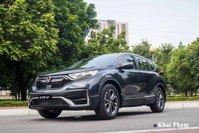 Honda CR-V tiếp tục được giảm giá mạnh với chương trình hỗ trợ phí trước bạ do hãng triển khai