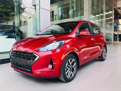 Hyundai Grand i10 2021 đỏ mặt trước