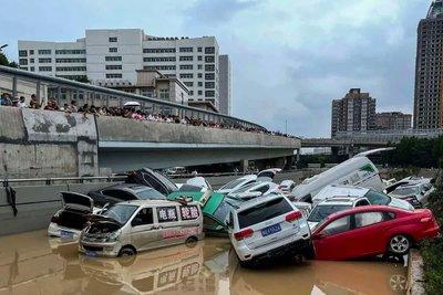 Phần lớn xe bị ngập lụt sẽ được bán ở thị trường xe cũ trên khắp Trung Quốc cũng theo các cách khác nhau