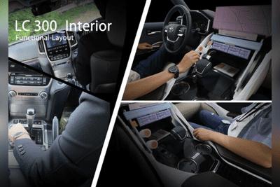 Toyota Land Cruiser 2022 Functional Interior