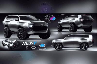 Toyota Land Cruiser 2022 Hex-y
