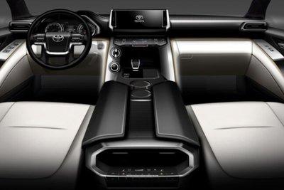 Toyota Land Cruiser 2022 Slick Start Button