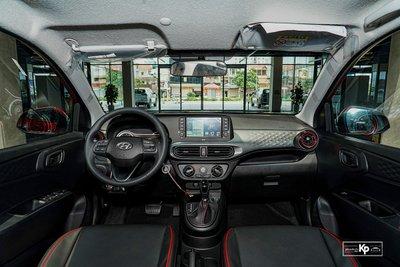 """""""Bóc tem"""" Hyundai Grand i10 Hatchback 2021 vừa về đại lý, 435 triệu đồng có đấu được Fadil? a3"""