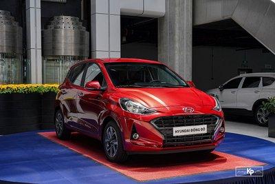 """""""Bóc tem"""" Hyundai Grand i10 Hatchback 2021 vừa về đại lý, 435 triệu đồng có đấu được Fadil? a1"""
