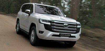 Tại Việt Nam, Toyota Land Cruiser thế hệ mới được phân phối theo diện ô tô nhập khẩu.