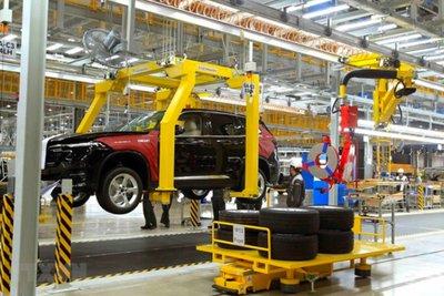 Việt Nam sản xuất được khoảng 838 chiếc ô tô mỗi ngày.