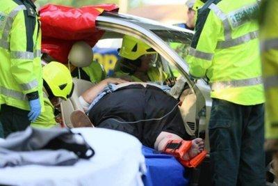 người béo phì gặp tai nạn giao thông
