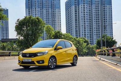 Honda Brio là mẫu xe được nhập khẩu nguyên chiếc từ Indonesia.