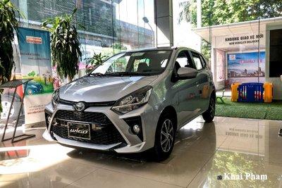 Toyota Wigo cũng được đánh giá cao khi là mẫu xe tiết kiệm nhiên liệu.