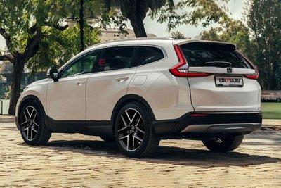 Honda CR-V 2023 mặt sau