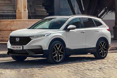 Honda CR-V 2023 mặt trước