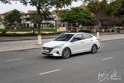 Dịch bệnh khó khăn, doanh số Hyundai Accent giảm mạnh trong tháng 7.