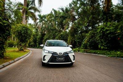 Toyota Vios tiếp tục giữ vị trí số 1 trong phân khúc sedan hạng B,