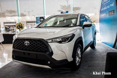 Toyota Corolla Cross đã chiếm lấy ngôi đầu bảng nhóm CUV/SUV đô thị.