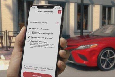 Toyota post collision assist 2021