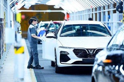 Hiện sản lượng sản xuất, lắp ráp xe trong nước tăng nhanh đang dần đáp ứng được nhu cầu của người tiêu dùng.