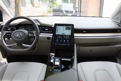 """""""Bóc tem"""" Hyundai Custo 2022: Tucson bản MPV có nội thất như xe Tesla a9"""