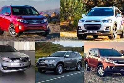 Một trong những đặc điểm nhận dạng của xe SUV là thiết kế gầm cao.