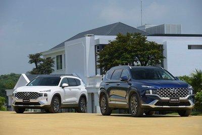 Thiết kế của SUV mạnh mẽ, vuông vắn, phần thân trên khung có kết cấu như xe tải