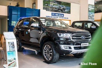 Ford Everest là một trong những dòng SUV cỡ trung rất được yêu thích.
