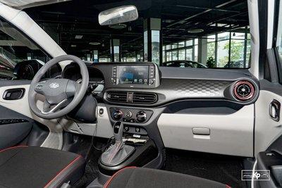 Nội thất của Hyundai Grand i10 2021.