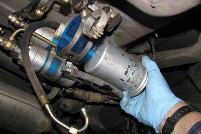 Bộ lọc nhiên liệu ô tô.