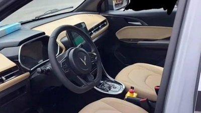 Nóng: Lộ ảnh thực tế nội thất xe VinFast VF e34 a1