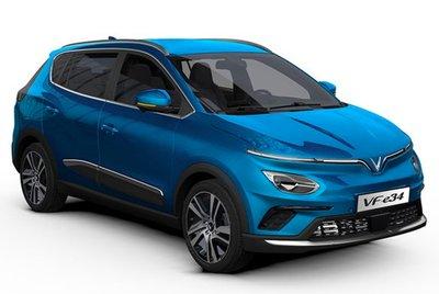VinFast chính thức mở bán mẫu ô tô điện đầu tiên của hãng mang tên VinFast VF e34