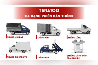 Tera100 đa dạng phiên bản thùng