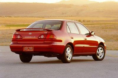 Toyota Corolla thế hệ thứ 8.