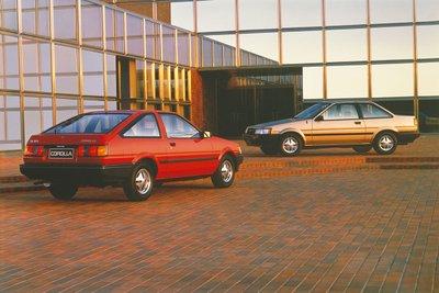 Toyota Corolla thế hệ thứ 5.