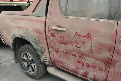 ô tô bẩn 1
