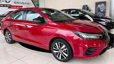 Tháng Ngâu, Honda City 2021 cũng phải ưu đãi khách Việt để kéo doanh số a3