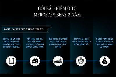 Nhiều đặc quyền dành riêng cho chủ sở hữu xe Mercedes-Benz với gói bảo hiểm 2 năm.