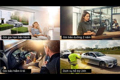Mercedes-Benz là hãng xe hiếm hoi tại Việt Nam triển khai đầy đủ tất cả tiện ích tập trung vì quyền lợi của khách hàng.