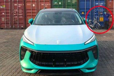 Chi tiết đặc biệt xuất hiện trong loạt ảnh về chiếc Dongfeng T5 Evo khiến nhiều người tin chắc rằng xe đã cập bến Việt Nam
