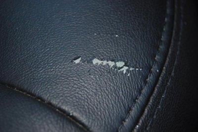 ghế da ô tô bị nổ