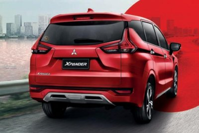 Mitsubishi Xpander Passion Red Edition mặt sau