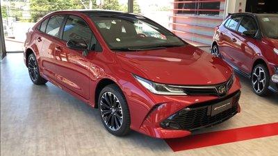 Diện kiến Toyota Corolla Altis GR Sport 2021 tại đại lý a1