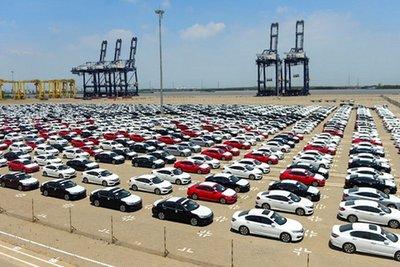 lượng ô tô nhập khẩu sẽ tiếp tục lao dốc trong thời gian tới 1