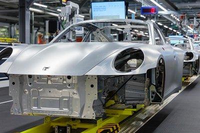 Hiện tại, nhà máy chính của Porsche đặt tại Leipzig, Đức