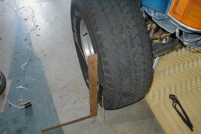 kiểm tra điều chỉnh góc đặt bánh xe