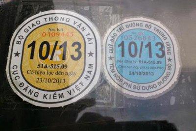 Tính đến giữa tháng 8, Hà Nội có hơn17.400 xeđến hạn đăng kiểm 1