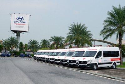 Ở phiên bản 2021, Hyundai Solati cứu thương cũng đã có những cải tiến nâng cấp đáng kể