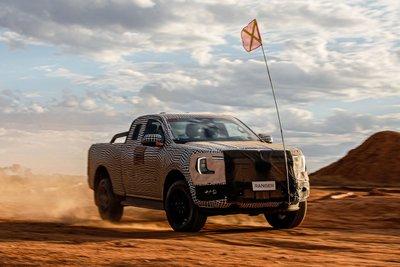 Ford Ranger thế hệ mới sẽ được bán ra vào năm 2022.