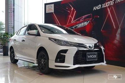 Phân khúc xe hạng B tháng 8/2021: Toyota Vios dẫn đầu, Nissan Almera chưa lộ doanh số 1